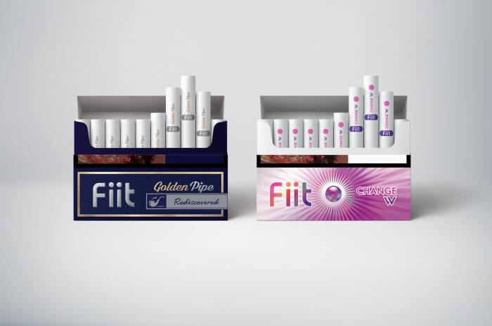 KT&G, 궐련형 전자담배 스틱 '핏' 신제품 2종 출시