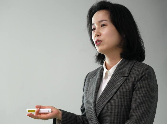 김효정 바이오아라 사장.