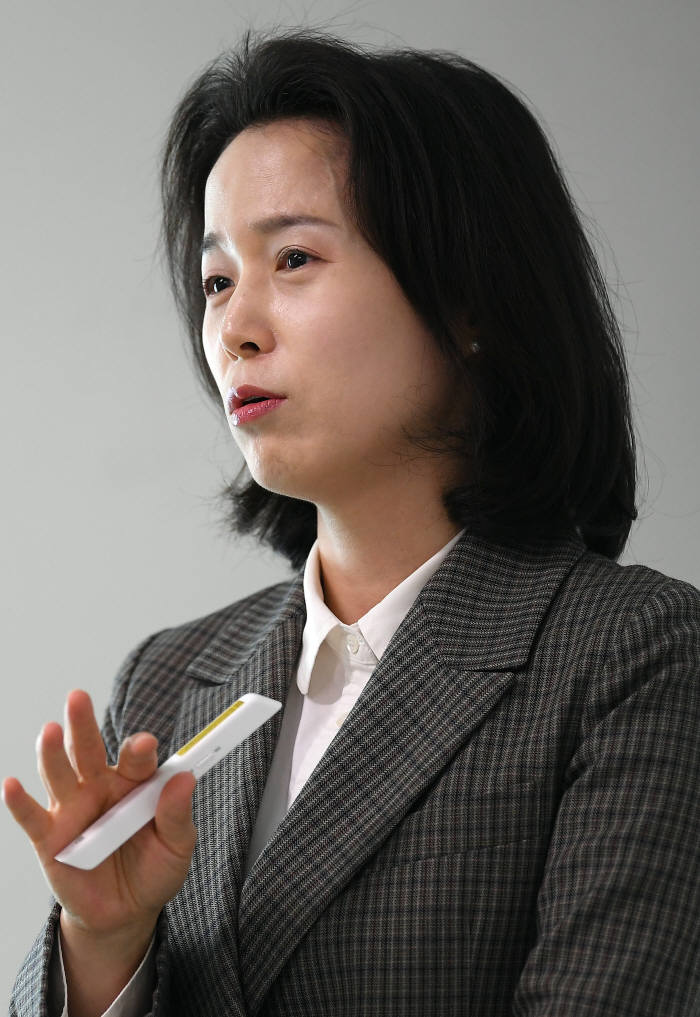 김효정 바이오아라 사장. 이동근기자 foto@etnews.com