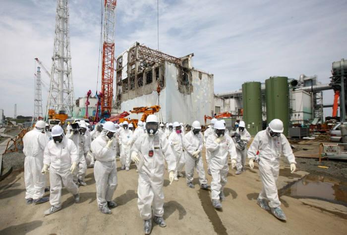 후쿠시마 원전 사고 현장 모습. 출처=로이터