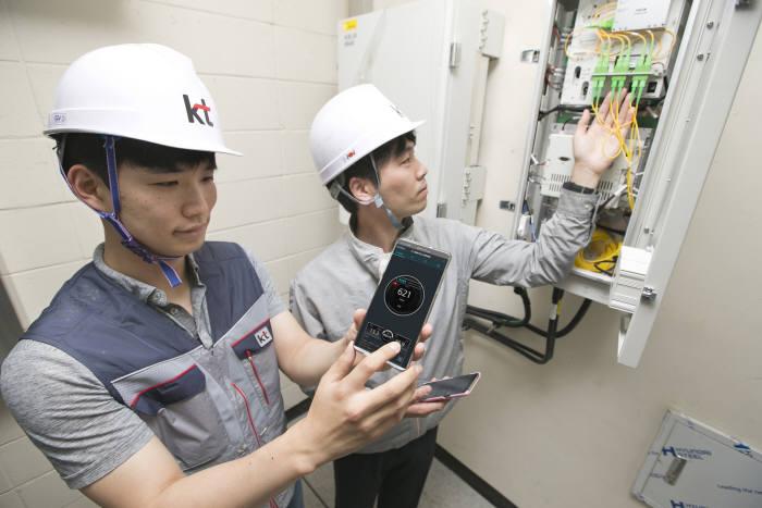 KT, 5G 인빌딩 중계기 구축·서비스 시작