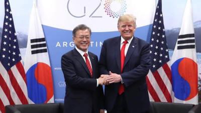 연쇄 정상외교 국면 속 숨가쁜 한반도 '일주일'...트럼프, 김정은에 친서 전달