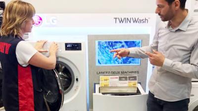 LG전자 세탁기, 영국·프랑스서 '최고제품' 평가