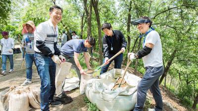 효성, '나눔의 숲 가꾸기' 사업 후원