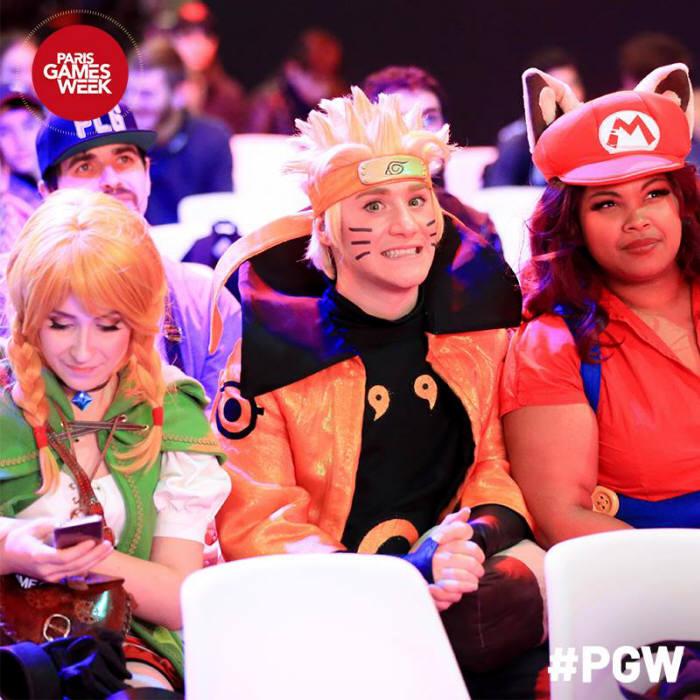 파리게임주간( PGW)에서 코스플레이를 즐기는 사람들 사진: SELL