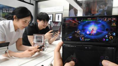 LG전자, 듀얼스크린 V50 씽큐 '5G 게임 페스티벌' 개최