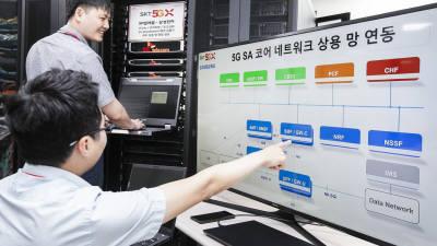 SK텔레콤, 5G 단독모드 통신 성공···내년 상반기 상용화