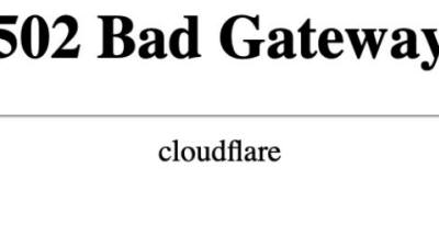 전 세계 대형 웹사이트 '502 BadGateway' 먹통, 왜?