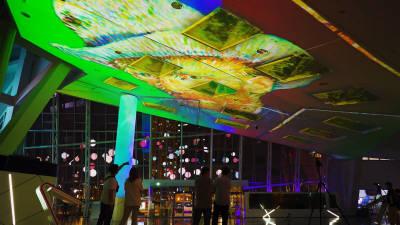홀로티브글로벌, 인천경제자유구역 송도 G-타워에 디지털 사이니지 공급
