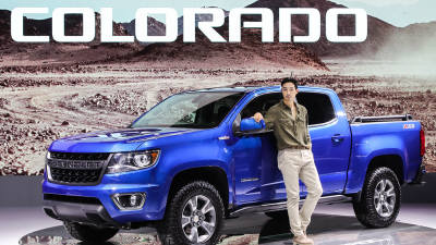 지난해 미국서 14만대 팔린 쉐보레 픽업트럭 '콜로라도'.. 내달 출시