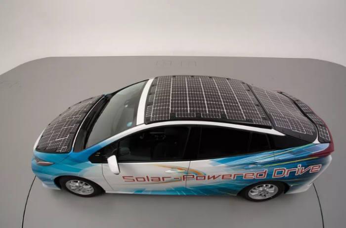 토요타 자동차 태양광 자동차 테스트 모델 [출처] 자동차 업체 친환경차 확대... 태양광 자동차가 온다|작성자 테크플러스