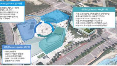 국내 첫 스타트업파크 '인천 투모로우시티'에 조성한다...중기부 11일 최종 선정