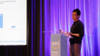 에스티유니타스, AWS 美 교육콘퍼런스서 '커넥츠 Q&A' 소개