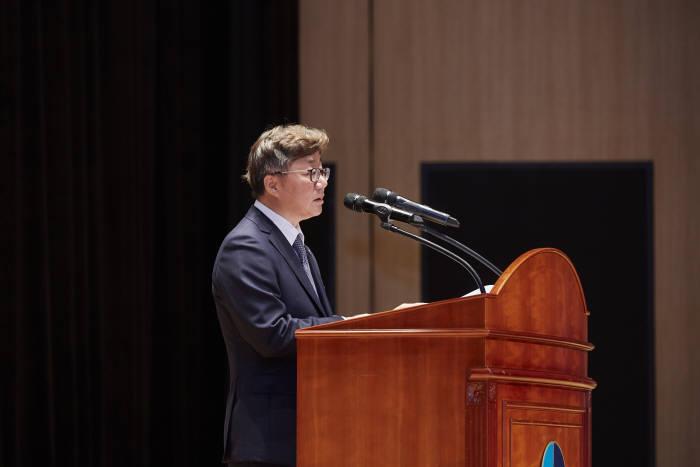 지난 10일 한국가스공사 대구 본사에서 채희봉 사장이 취임식을 갖고 비전을 밝혔다.