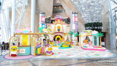 카카오프렌즈, 홍콩 '랭함 플레이스'에 팝업스토어 오픈