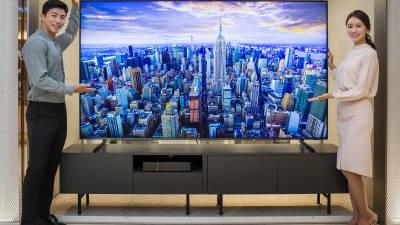 날개 돋친 \'QLED TV\'...\'OLED TV\'는 성장률 주춤