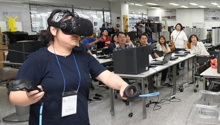 무안군 SW코딩 전문가 양성 과정 수료생, 1박2일간 3D프린팅·코딩드론 기업 탐방