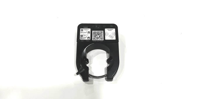 리콘바이크가 출시한 한국형 스마트 모빌리티용 잠금장치 스마트 락(Smart Lock).