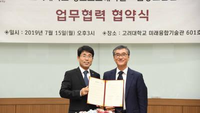 금융보안원·고려대, '정보보호 연구협력·전문인력 양성' 손잡았다
