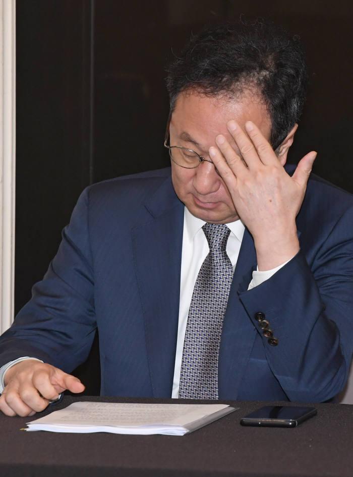 이우석 코오롱생명과학 대표(사진: 전자신문 DB)