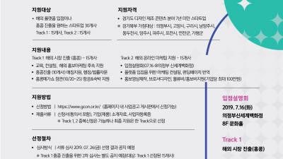 경기콘진원, '2019 해외 진출 및 판로지원' 참여 기업 모집