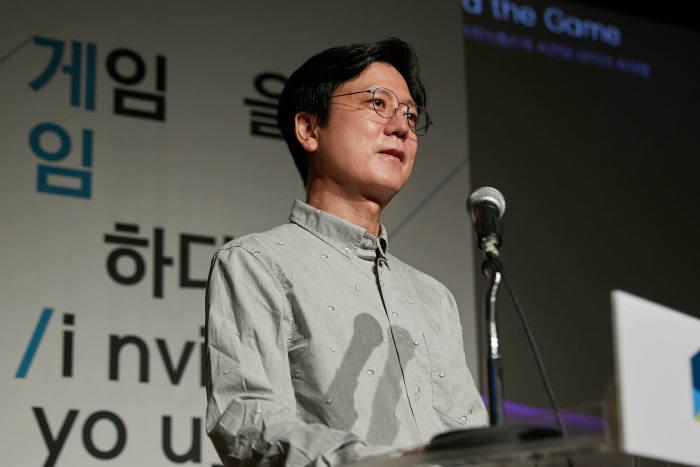 김정욱 넥슨재단 이사장