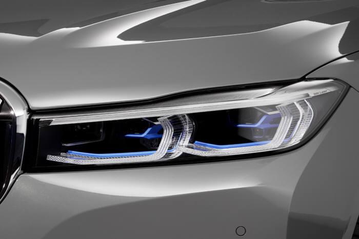 BMW 뉴 7시리즈 레이저 라이트.