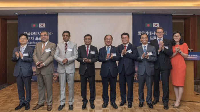 한국수출입은행은 17일 서울 소공동 롯데호텔에서 방글라데시 인프라 투자 프로모션을 개최했다.