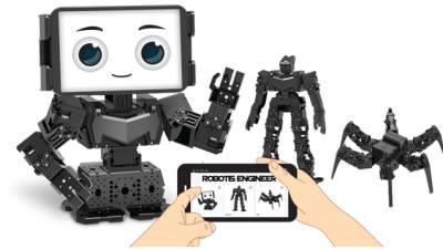 """로보티즈, 교육용 다관절 로봇 신제품 출시...""""3D프린팅·코딩 앱과 연계한 휴머노이드"""""""