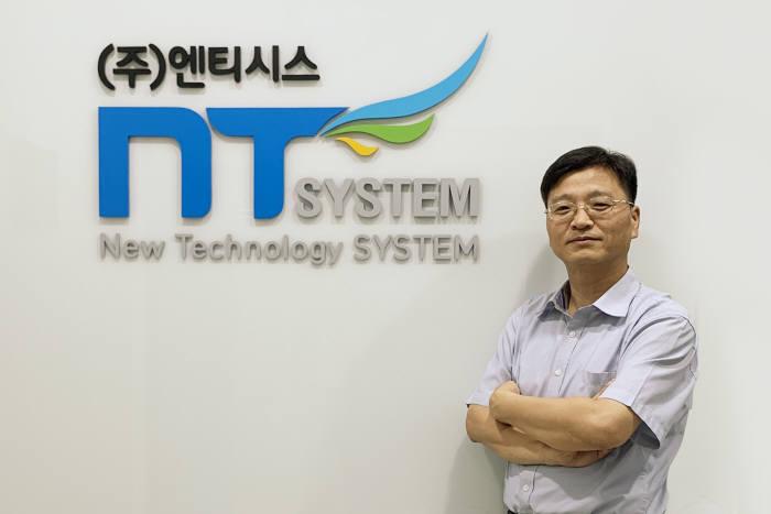 """[인사이트]김대진 엔티시스 대표, """"틈새 공공 솔루션에서 강소기업 될 것"""""""