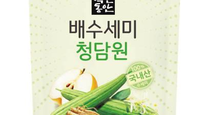 동화약품-샘표, 건강 드링크 '배수세미 청담원' 출시