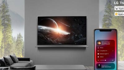 LG전자 인공지능 TV로 애플 '에어플레이2' 즐긴다