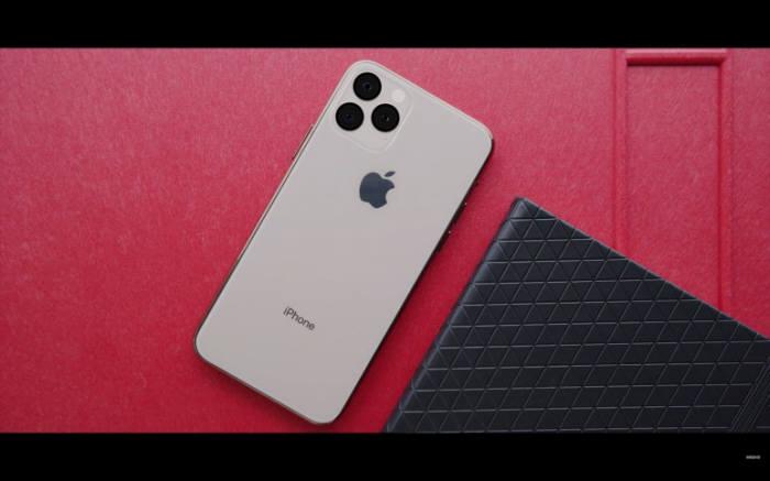 아이폰 11 가상 렌더링 이미지