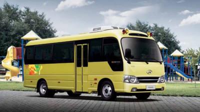 [단독]현대차, 첫 중형 전기버스 내년 3월 양산…'어린이버스' 시장 공략