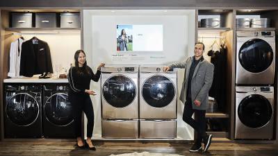 삼성전자 건조기·세탁기·냉장고, 美 시장 점유율 1위 휩쓸어