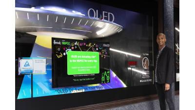 LG디스플레이, 英 해롯서 OLED TV 제조사들과 프리미엄 마케팅