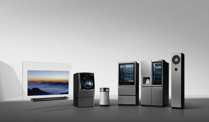 LG전자 초프리미엄 브랜드 LG시그니처 제품