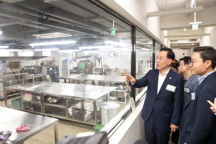 ICT 규제 샌드박스 통한 '민간 최초 공유주방' 오픈