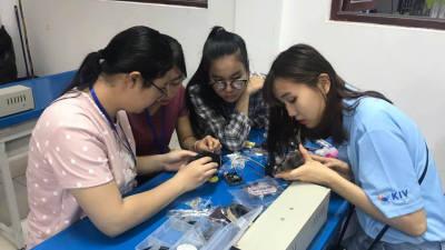 한국기술교육대, 라오스에서 IT교육봉사 진행
