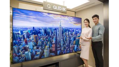 급성장하는 8K TV 패널 시장, 삼성디스플레이가 주도권 잡았다