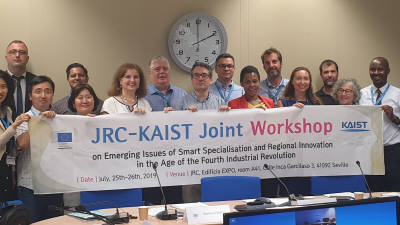 KAIST 4차산업혁명지능정보센터, EU 공동연구센터와 공동 워크숍
