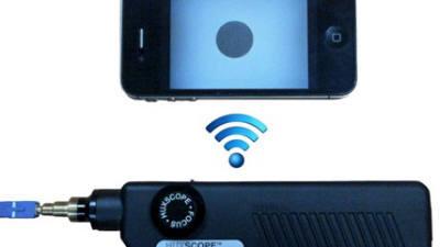 더파이버스, 유무선 겸용 광섬유 단면 검사기 개발…광통신망 구축 편리