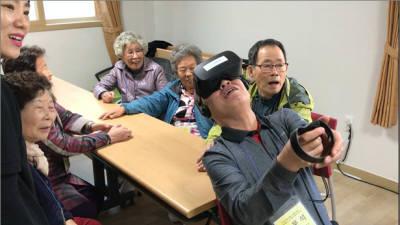 치매 걱정 날리는 VR게임…SY이노테크 'BT케어' 인기