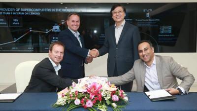 인텔, 레노버와 고성능 컴퓨팅·AI 분야 협업