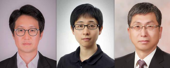 왼쪽부터) 권오중 인천대 교수, 임태호 숭실대 교수, 성영은 서울대 교수