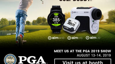 골프존데카, PGA 패션 앤 데모 익스피리언스에 거리측정기 7종 출품