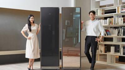 삼성전자 '대용량 에어드레서' 출시...최대 옷 10벌까지 관리