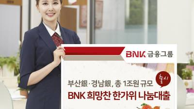BNK부산·경남銀, 지역 경제 위해 특별자금 1조원 지원