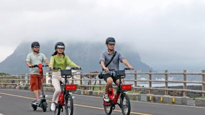 현대차, 제주서 '공유형 모빌리티' 서비스...킥보드·자전거 110대 투입