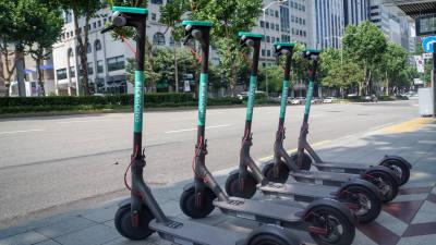 공유킥보드 '킥고잉', 현대차·코오롱으로부터 투자 유치